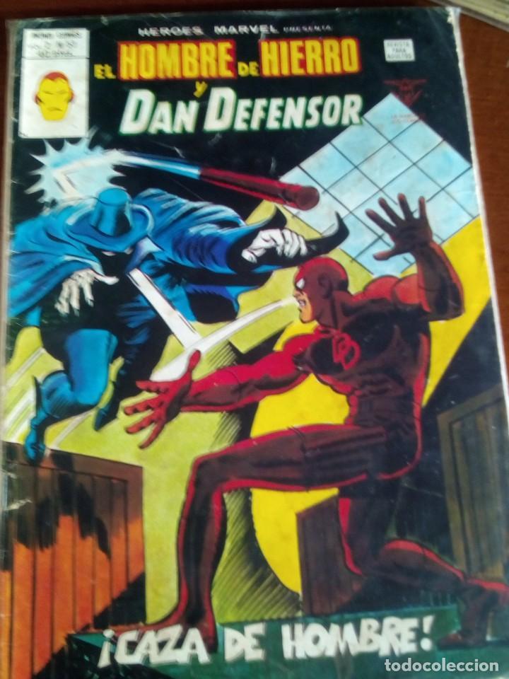 Cómics: HEROES MARVEL la masa dan defensor hombre de hierro N-1 AL 67 COMPLETA - Foto 54 - 63660951