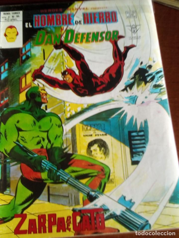 Cómics: HEROES MARVEL la masa dan defensor hombre de hierro N-1 AL 67 COMPLETA - Foto 55 - 63660951