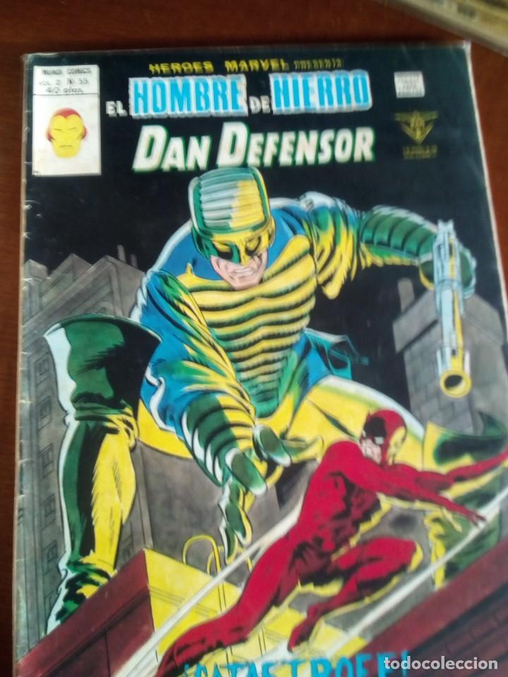 Cómics: HEROES MARVEL la masa dan defensor hombre de hierro N-1 AL 67 COMPLETA - Foto 56 - 63660951