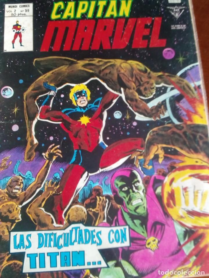 Cómics: HEROES MARVEL la masa dan defensor hombre de hierro N-1 AL 67 COMPLETA - Foto 60 - 63660951