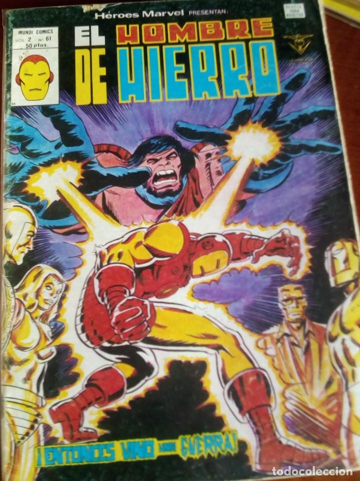 Cómics: HEROES MARVEL la masa dan defensor hombre de hierro N-1 AL 67 COMPLETA - Foto 62 - 63660951