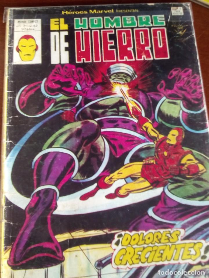 Cómics: HEROES MARVEL la masa dan defensor hombre de hierro N-1 AL 67 COMPLETA - Foto 63 - 63660951