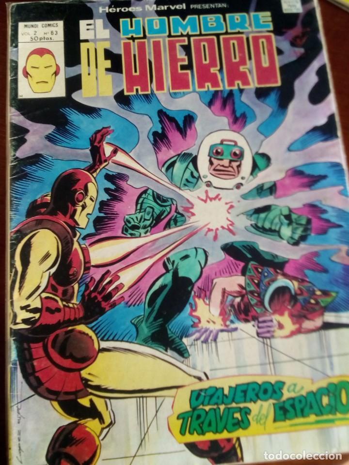 Cómics: HEROES MARVEL la masa dan defensor hombre de hierro N-1 AL 67 COMPLETA - Foto 64 - 63660951