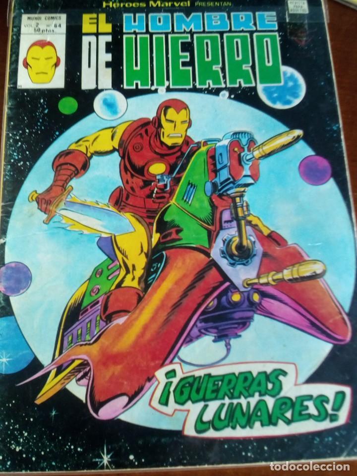 Cómics: HEROES MARVEL la masa dan defensor hombre de hierro N-1 AL 67 COMPLETA - Foto 65 - 63660951