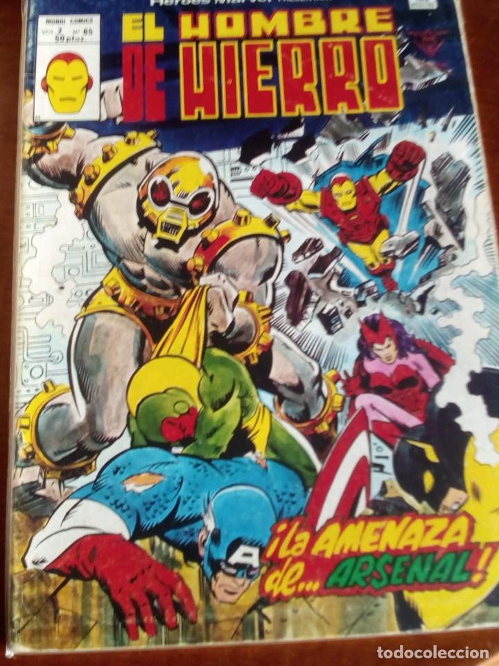 Cómics: HEROES MARVEL la masa dan defensor hombre de hierro N-1 AL 67 COMPLETA - Foto 66 - 63660951