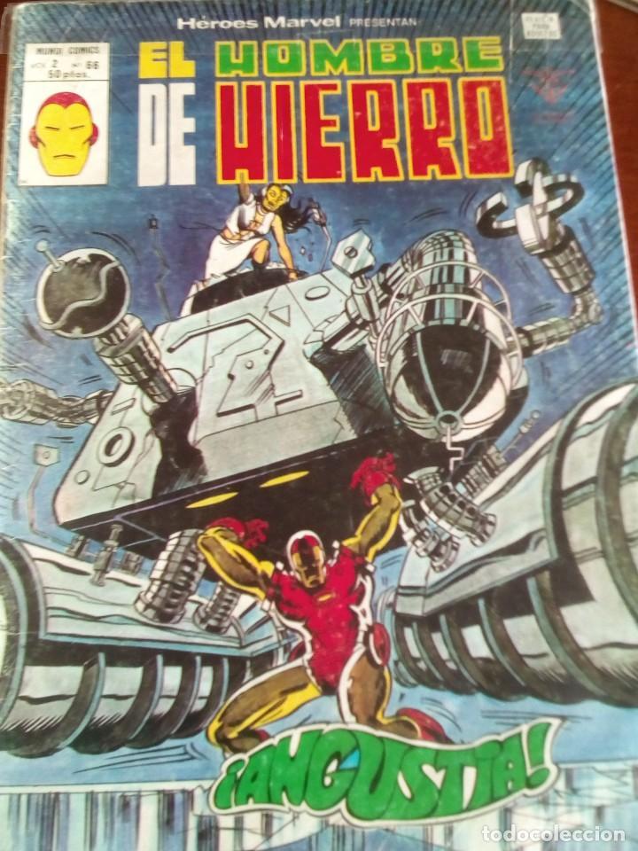 Cómics: HEROES MARVEL la masa dan defensor hombre de hierro N-1 AL 67 COMPLETA - Foto 67 - 63660951