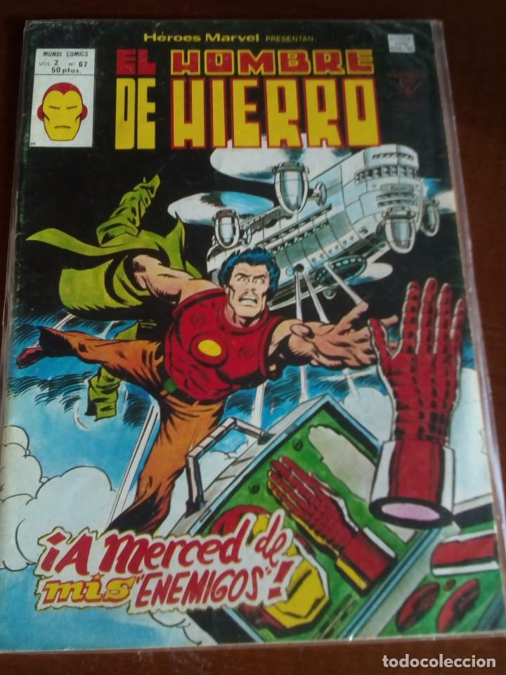 Cómics: HEROES MARVEL la masa dan defensor hombre de hierro N-1 AL 67 COMPLETA - Foto 69 - 63660951