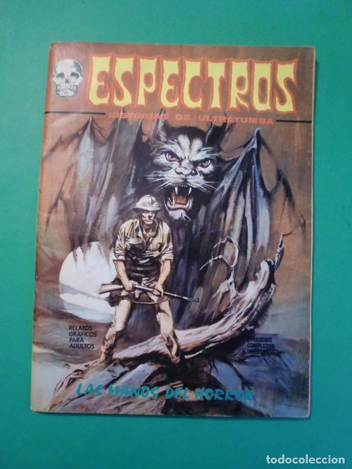 Espectros historias de ultratumba mundi comic comprar for Cuentos de ultratumba