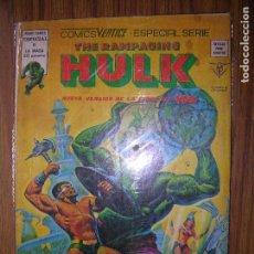 Cómics: THE RAMPAGING HULK ESPECIAL Nº6 AÑO 1979. Lote 64044827