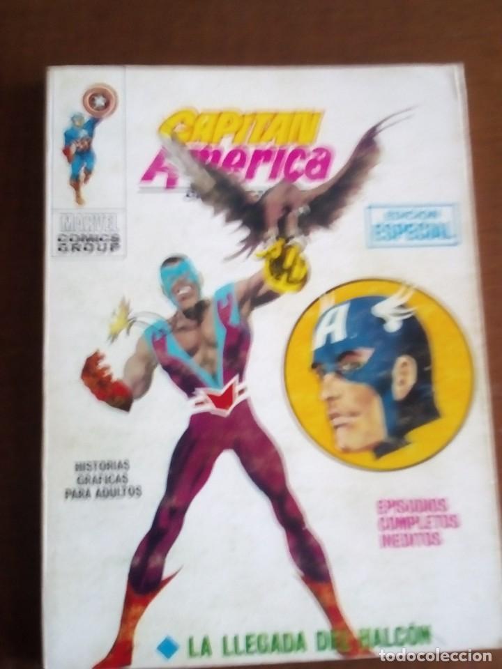CAPITAN AMERICA N-7 (Tebeos y Comics - Vértice - Capitán América)