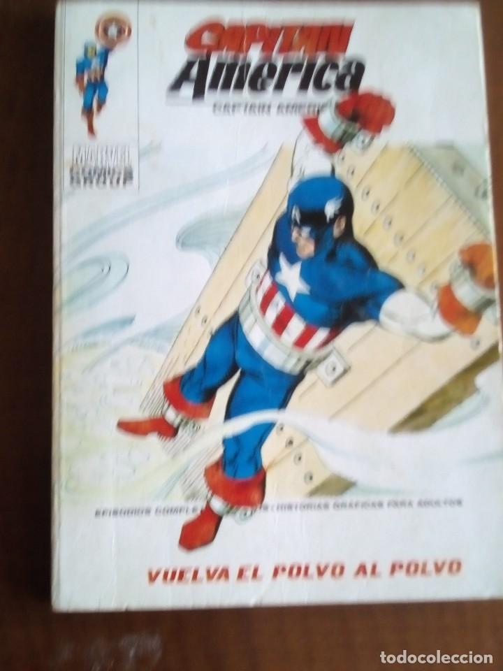 CAPITAN AMERICA N 34 (Tebeos y Comics - Vértice - Capitán América)