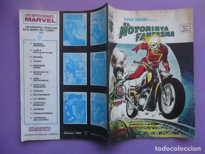 Cómics: SUPER HEROES Nº 18, EL MOTORISTA FANTASMA, VERTICE VOLUMEN 2¡¡¡ BUEN ESTADO!!!!! - Foto 3 - 64166103
