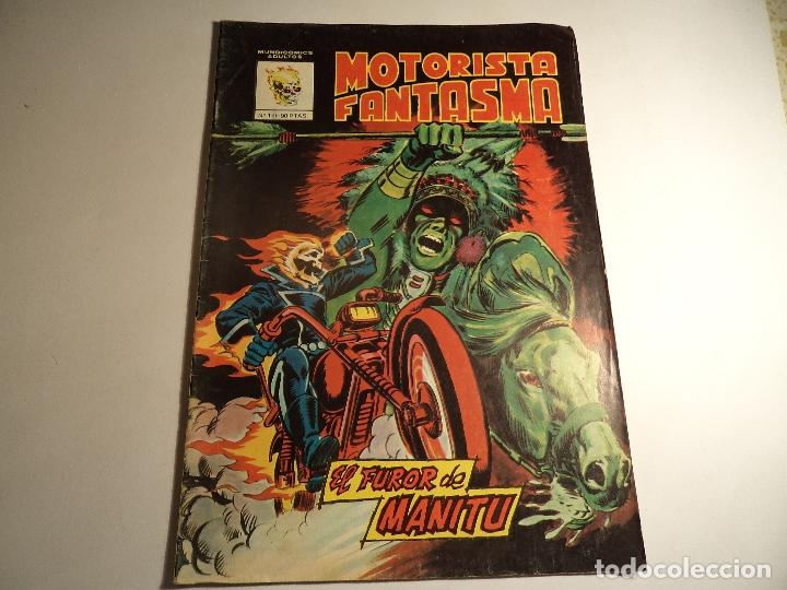 MOTORISTA FANTASMA. Nº 1. MUNDICOMICS. VERTICE. (Z-26) (Tebeos y Comics - Vértice - Surco / Mundi-Comic)