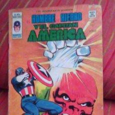 Cómics: LOS INSUPERABLES PRESENTAN - HOMBRE DE HIERRO Y EL CAPITAN AMERICA Nº 8 NUMERO 8 -MUNDI COMIC VERTIC. Lote 64543067