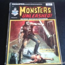 Cómics: ESCALOFRÍO ** MONSTERS UNLEASHED! ** NÚMERO 37 ** HISTORIAS GRÁFICAS DE MEDIANOCHE ** VERTICE 1975. Lote 64651371