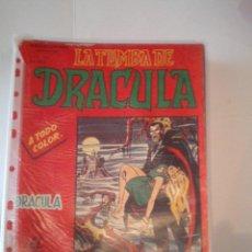 Cómics: LA TUMBA DE DRACULA - ESCALOFRIO - VERTICE - VOLUMEN 1 Y 2 - COMPLETA - MBE - CJ 99. Lote 64829091