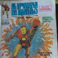 Cómics: EL HOMBRE DE HIERRO. Lote 64972307