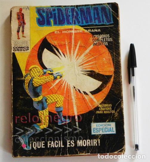 SPIDERMAN / EL HOMBRE ARAÑA - QUE FÁCIL ES MORIR - ANTIGUO CÓMIC - EDICIÓN ESPECIAL - VÉRTICE MARVEL (Tebeos y Comics - Vértice - Super Héroes)