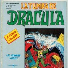 Cómics: ESCALOFRIO - VOL. 2 - Nº 5 - LA TUMBA DE DRÁCULA - ED. VERTICE - 1981. Lote 65753702