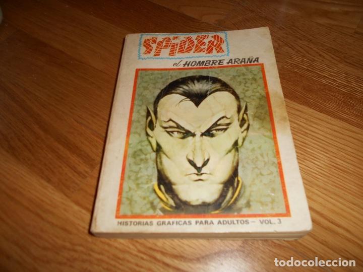 VÉRTICE. SPIDER EL HOMBRE ARAÑA. EDICIÓN ESPECIAL VOLUMEN 3. 1973. 50 PTS. 288 PÁGINAS. MUY DIFÍCIL. (Tebeos y Comics - Vértice - V.3)