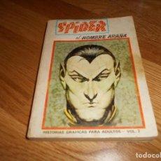 Cómics: VÉRTICE. SPIDER EL HOMBRE ARAÑA. EDICIÓN ESPECIAL VOLUMEN 3. 1973. 50 PTS. 288 PÁGINAS. MUY DIFÍCIL.. Lote 65767186