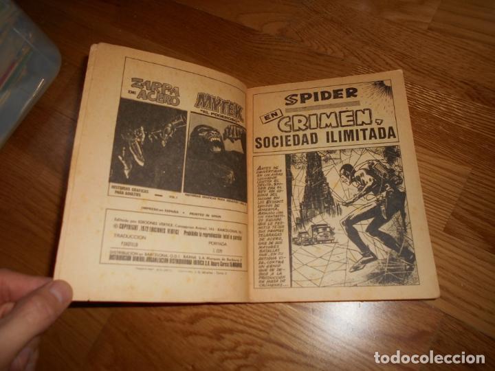 Cómics: VÉRTICE. SPIDER EL HOMBRE ARAÑA. EDICIÓN ESPECIAL VOLUMEN 3. 1973. 50 PTS. 288 PÁGINAS. MUY DIFÍCIL. - Foto 4 - 65767186