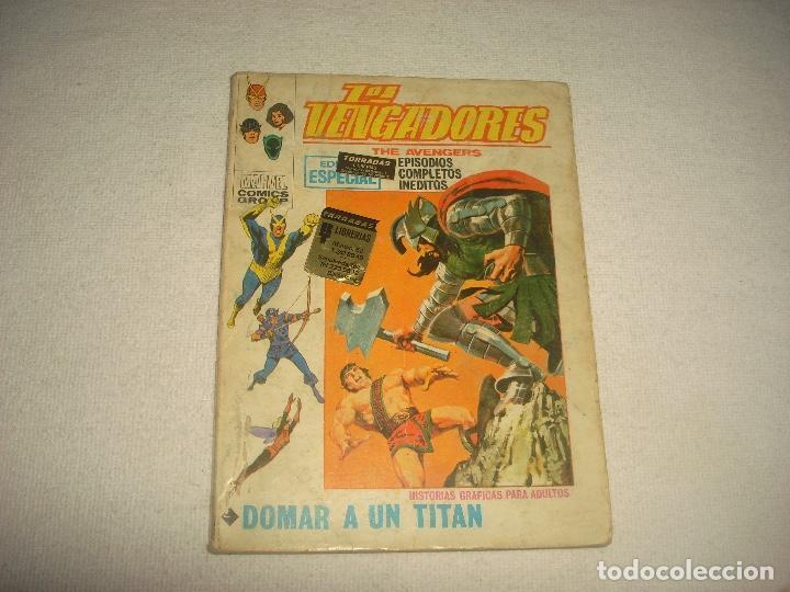 LOS VENGADORES . N.22 . DOMAR A UN TITAN (Tebeos y Comics - Vértice - V.1)
