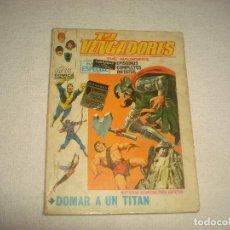 Cómics: LOS VENGADORES . N.22 . DOMAR A UN TITAN . Lote 66000514