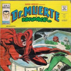 Cómics: SÚPER HÉROES VOLUMEN 2. Nº 70 DOCTOR MUERTE Y NAMOR. . Lote 66086350