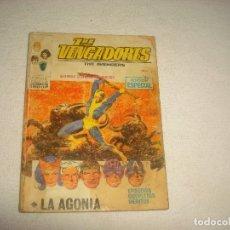 Cómics: LOS VENGADORES N° 20 . LA AGONIA. Lote 66110490