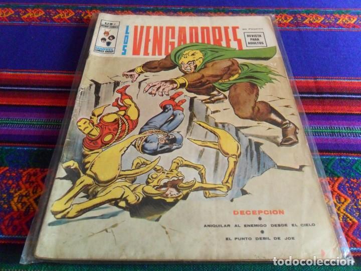 VÉRTICE VOL .2 LOS VENGADORES Nº 2. 30 PTS. 1974. DECEPCIÓN. (Tebeos y Comics - Vértice - Vengadores)