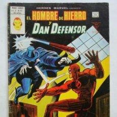 Cómics: HEROES MARVEL VOL. 2 Nº 53 EL HOMBRE DE HIERRO Y DAN DEFENSOR VÉRTICE.. Lote 66202850