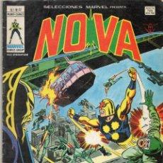 Cómics: COMIC VERTICE 1979 SELECCIONES MARVEL VOL1 Nº 37 NOVA (BUEN ESTADO). Lote 66446418