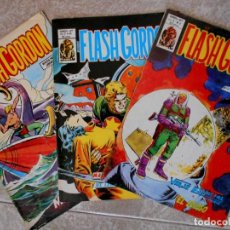 Cómics: FLASH GORDON. LOTE 3 COMICS Nº 40 DEL VOL. 1 Y Nº 6 Y 40 DEL VOL. 2. ED. VERTICE. Lote 66821022