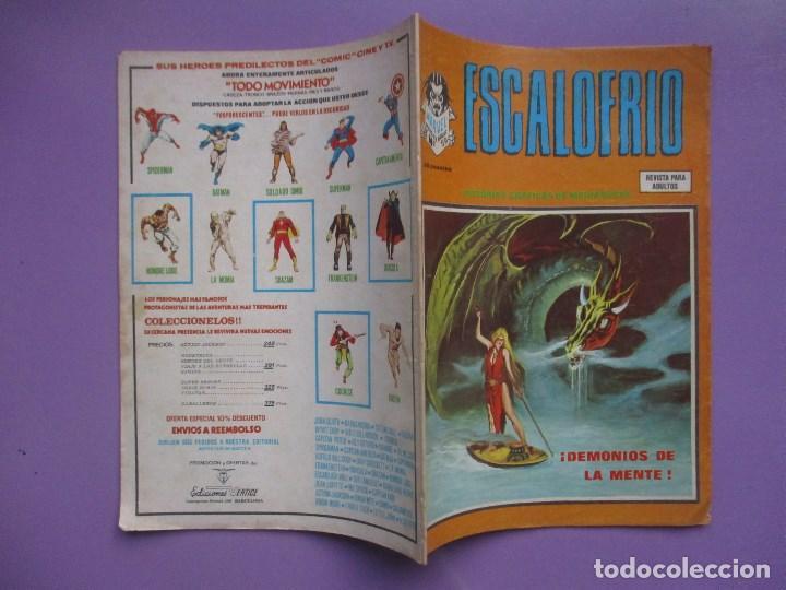 Cómics: ESCALOFRIO Nº 59, VERTICE ¡¡BUEN ESTADO !!!!! - Foto 3 - 67184181