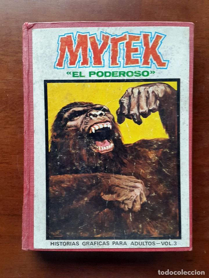 MYTEK EL PODEROSO.EDICIONES VERTICE 1969. VOL 3 TAPA DURA (Tebeos y Comics - Vértice - Otros)