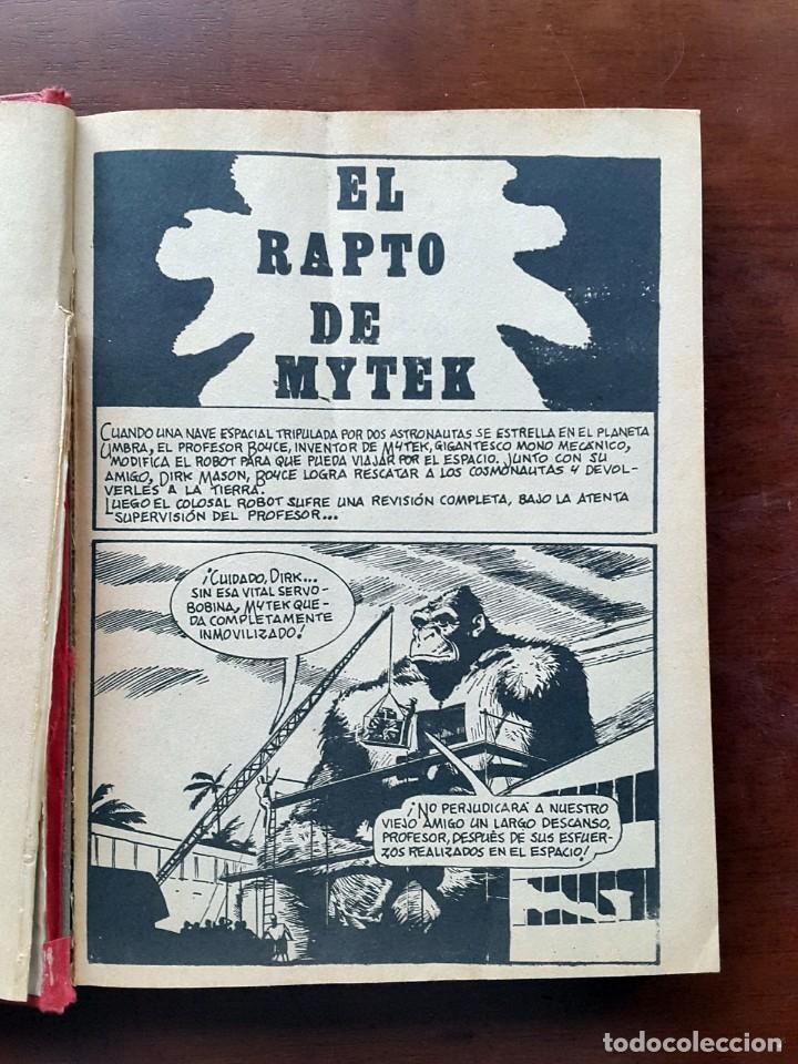 Cómics: MYTEK EL PODEROSO.EDICIONES VERTICE 1969. VOL 3 TAPA DURA - Foto 5 - 67196001