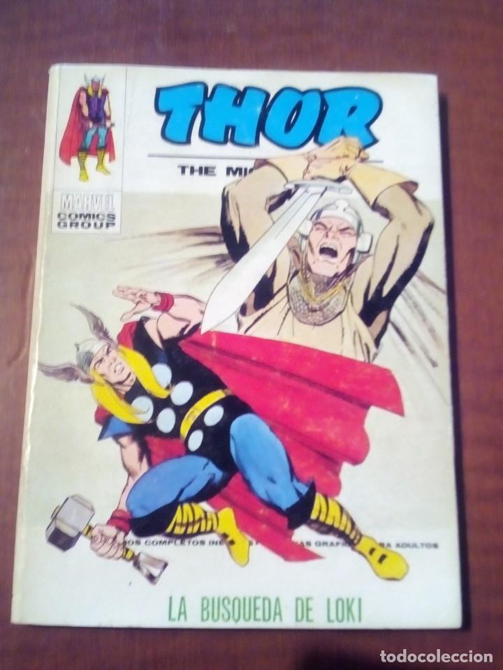 THOR N 35 COMPLETO (Tebeos y Comics - Vértice - Thor)