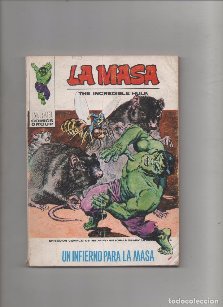 LA MASA VOL.1 Nº 26: UN INFIERNO PARA LA MASA.VERTICE.DA (Tebeos y Comics - Vértice - La Masa)