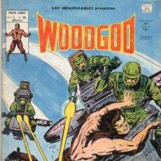 Cómics: COMIC VERTICE 1980 LOS INSUPERABLES VOL1 Nº 35 WOODGOD BUEN ESTADO. Lote 67511457