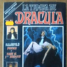 Cómics: ESCALOFRIO LA TUMBA DE DRACULA VOL. 1 Nº 1 - VERTICE. Lote 67694745