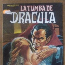 Comics: ESCALOFRIO LA TUMBA DE DRACULA VOL. 1 Nº 4 - VERTICE - MUY BUEN ESTADO. Lote 67696509