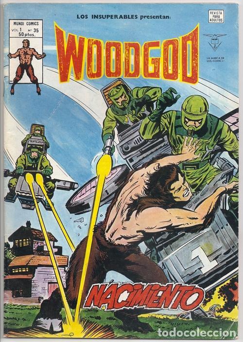 WOODGOD   MONARK / LOS INSUPERABLES, 35 (KEITH GIFFEN, HOWARD CHAYKIN) - VÉRTICE, 12/1980 (Tebeos y Comics - Vértice - Grapa)