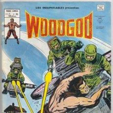 Cómics: WOODGOD | MONARK / LOS INSUPERABLES, 35 (KEITH GIFFEN, HOWARD CHAYKIN) - VÉRTICE, 12/1980. Lote 67747997