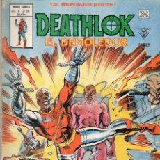 Cómics: COMIC VERTICE 1980 LOS INSUPERABLES VOL1 Nº 30 DEATHLOK BUEN ESTADO. Lote 67959789