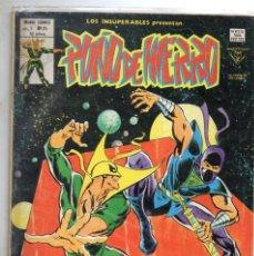 Cómics: COMIC VERTICE 1979 LOS INSUPERABLES VOL1 Nº 24 PUÑO DE HIERRO BUEN ESTADO. Lote 67962601