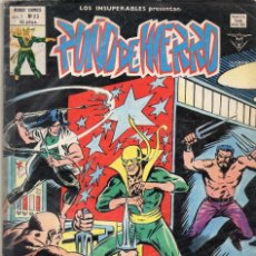 Cómics: COMIC VERTICE 1979 LOS INSUPERABLES VOL1 Nº 23 PUÑO DE HIERRO BUEN ESTADO. Lote 67963085