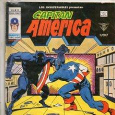 Cómics: COMIC VERTICE 1979 LOS INSUPERABLES VOL1 Nº 19 CAPITAN AMERICA BUEN ESTADO. Lote 67964713