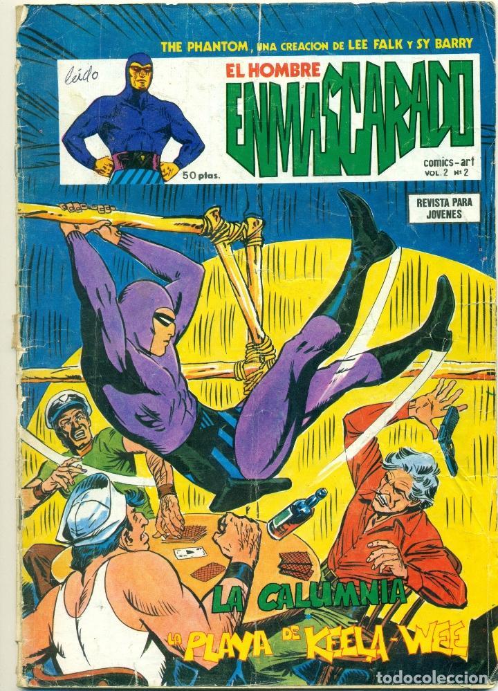 EL HOMBRE ENMASCARADO DE VERTICE VOLUMEN 2 LOTE DE 8 EJEMPLARES (Tebeos y Comics - Vértice - Hombre Enmascarado)