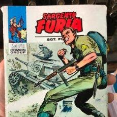 Cómics: SARGENTO FURIA 20 - VERTICE TACO - LA FORTALEZA DEL HORROR. Lote 68268141